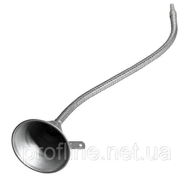 Воронка металлическая с гибким концевиком 630мм 3109 JTC