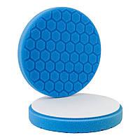 Полировальный круг Hexagon 150/160 синий №3