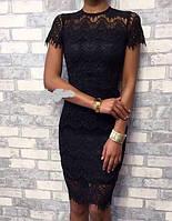 Платье женское гипюровое  чех013, фото 1