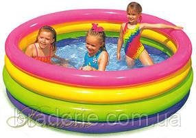 """Детский надувной бассейн """"Большая радуга"""" Intex 56441"""
