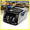 Счетная машинка купюр Bill Counter MG6200 с ультрафиолетовым детектором / Счетчик банкнот