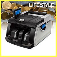 Счетная машинка купюр Bill Counter MG6200 с ультрафиолетовым детектором / Счетчик банкнот, фото 1