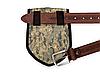"""Чехол для лопаты - сумка для находок 2 в 1 """"Два штыка"""", пиксель, фото 3"""