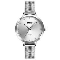 Женские часы SKMEI 1291 ANGEL Silver