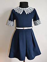Детское школьное платье на девочку 128 размер, фото 1
