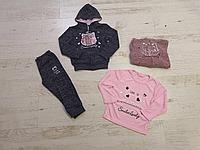Трикотажный костюм-тройка для девочек  Sincere 80-110 рр. оптом