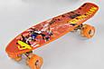 Скейт Best Board Р 13222, дошка 55 см, колеса PU, світяться, фото 2