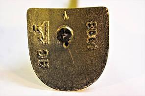 Каблук женский пластиковый 8001 Золото р.1-3 h-8,8-9,6 см., фото 2