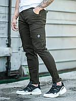Мужские карго брюки BEZET Battle khaki'19