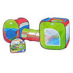Детская игровая палатка Bambi с тоннелем (M 2503)