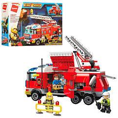 """Конструктор Brick 2807 """"Пожежна машина"""" 366 деталей"""