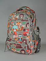 Школьный рюкзак Favor 6868-8с серый