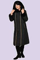 Молодежное зимнее пальто женское