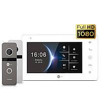 Neolight NeoKIT HD (Graphite, Silver) комплект видеодомофона, фото 1