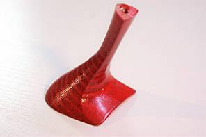Каблук женский пластиковый 8003 Красный р.1-3 h-7,8-8,5 см., фото 2