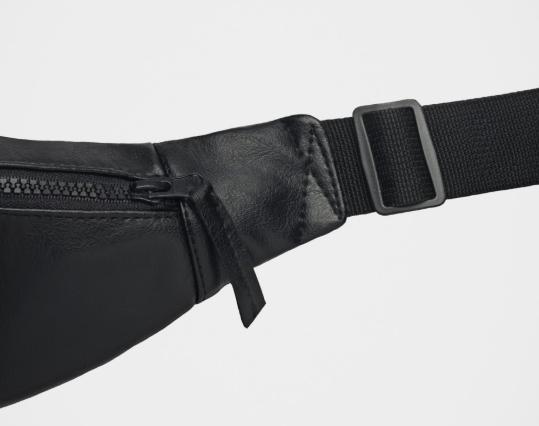 Сумка поясная Гард eco-leather  black