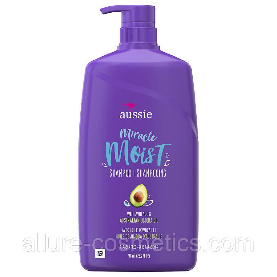 Шампунь Aussie Miracle Moist Shampoo Avocado & Australian Jojoba Oil 778мл.