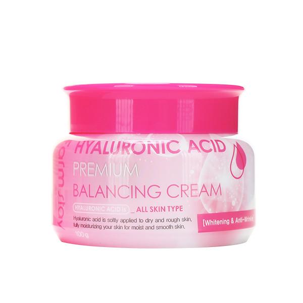 Балансирующий крем с гиалуроновой кислотой FarmStay Hyaluronic Acid Premium Balancing Cream, 100ml