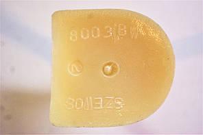Каблук женский пластиковый 8003 Белый р.1-3 h-7,8-8,5 см., фото 2