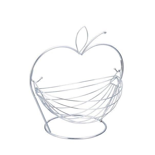 """Корзина для фруктов яблоко 31 х 29,5 х 23,5 см - (Польша) TM """"Tadar"""""""