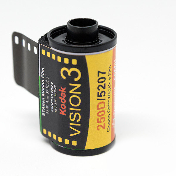 Фотопленка  KODAK VISION3 250D Color Negative Film 5207