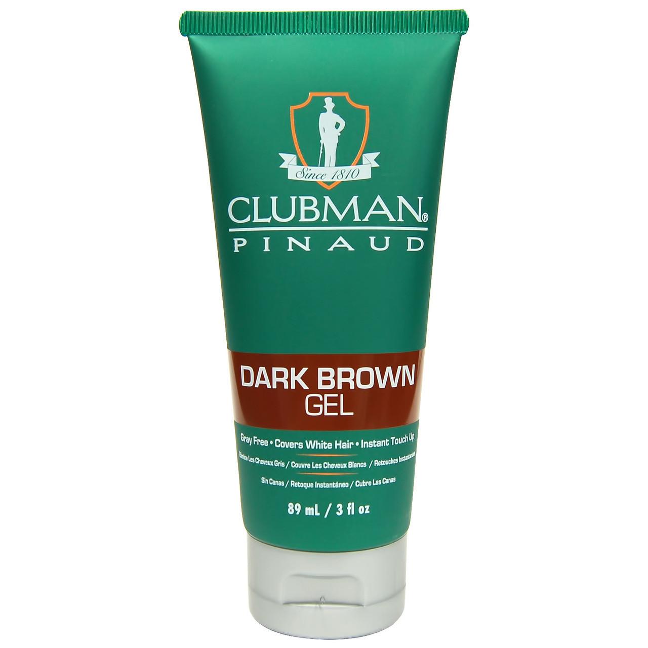 Гель-фарба для волосся CLUBMAN темно коричнева 89мл