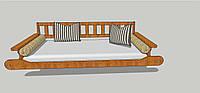Ліжко В3, фото 1
