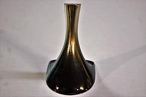 Каблук женский пластиковый 8003 Гальваника черное золото р.1-3 h-7,8-8,5 см., фото 3