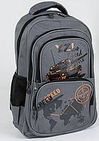 Рюкзак школьный для мальчиков 2, 3, 4, 5 класс Танк, младшая, средняя школа.