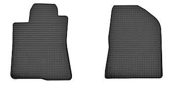 Коврики в салон резиновые передние для Toyota Avensis NG 2003-2009 Stingray (2шт)