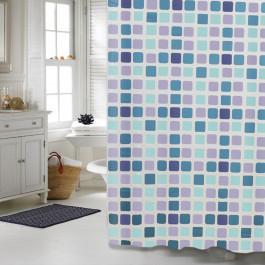 """Шторка для ванної кімнати """"Мозаїка"""", 180*180см, Віланд"""