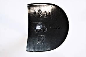Каблук женский пластиковый 1295 р.0-3  h-11,0-12,3 см., фото 3