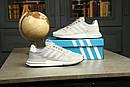 Мужские кроссовки Adidas ZX 500 RM boost из натуральной замши, 5 цветов, фото 9