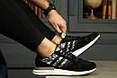 Мужские кроссовки Adidas ZX 500 RM boost из натуральной замши, 5 цветов, фото 8