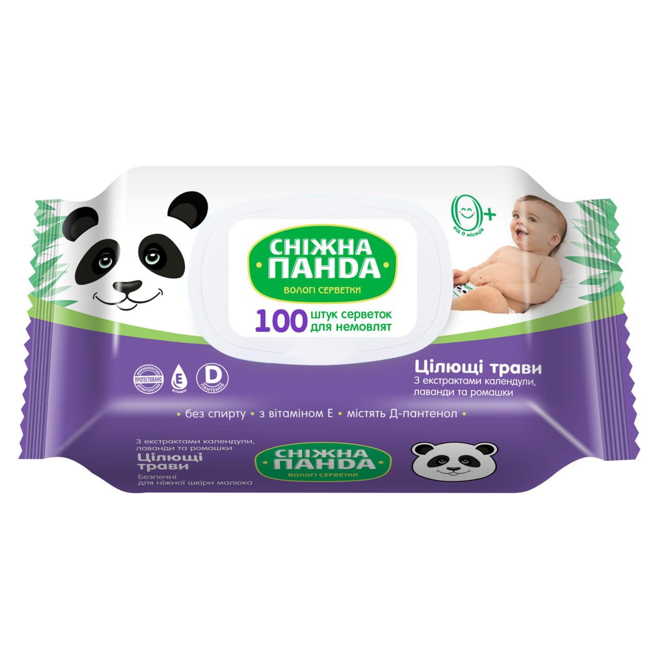 Сніжна панда в/с дНемов Цілющі трави 100