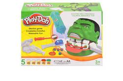 Игровой набор Пластилин для лепки Play-Doh Стоматолог Халк Мистер Зубастик scs scs