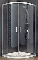 Душевая кабина SANTEH 1901800 80х80 с поддоном 16см, прозрачное стекло