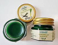 Натуральный бальзам репеллент от комаров Green Balm с лемонграссом 20 гр