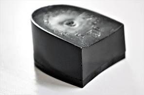 Каблук женский пластиковый 1273 р.1  h-2,9 см., фото 3