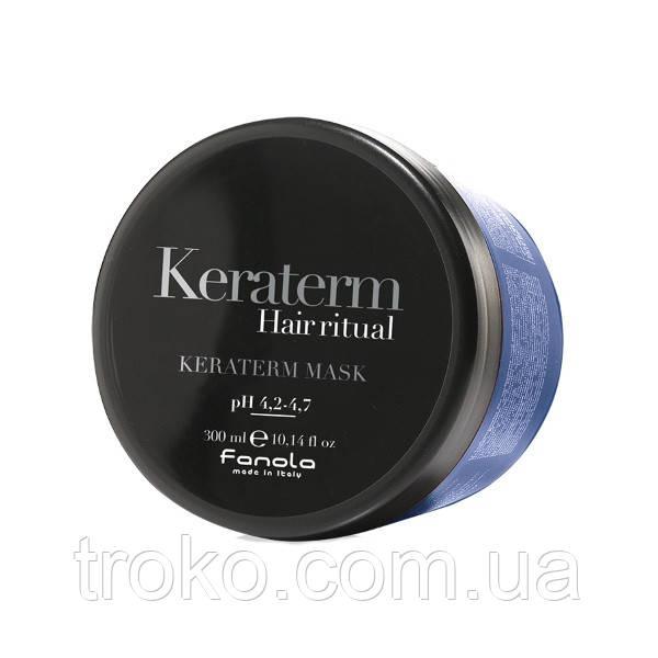 Fanola Keraterm Mask - Маска для реконструкции поврежденных волос