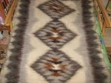 Плед одеяло из овечьей шерсти двуспальный, Лыжник гуцульский, размер 2,0 * 2,0 м \ Tvd - П21