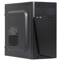 ПК ЕТЕ HB-At200-4.24SSD.V3.AZ400-SP/Ryzen Athlon 200GE/A320M/4GB DDR4/SSD 240Gb/Radeon Vega 3/AZZA VC13M0-71/400W/No OS