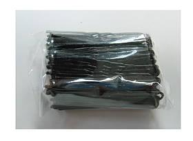 Шпильки черные-4см (100шт/уп)