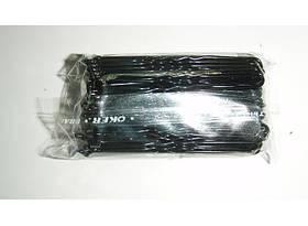 Шпильки черные-6см (100шт/уп)