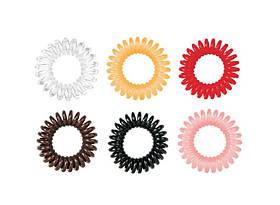 Резинки для волос (3шт/уп.) FOX SPRING HAIR RING New