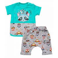 Летний комплект для мальчика или  девочки футболка и шорты
