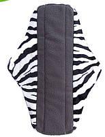 6 капелек.Велюровые многоразовые гигиенические прокладки  для критических дней