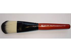 Кисть для макияжа большая-коричневая SALON/Meiligirl/х