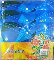 """Папка на кнопке """"Украина""""/""""вишиванка"""" А4+(23,5*33см) 18мкм"""