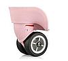 Колесный блок для чемодана ЧКБ7 - 101Б  розовый (D=49 mm)